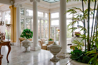 The Palm Room at the Colorado Governor's Mansion